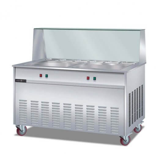 Two pan fried ice cream machine suppliers
