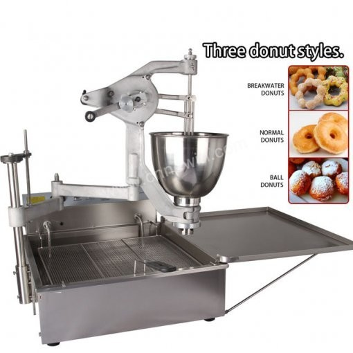Automatic Machine for Making donuts with 3 molds